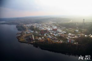 Chalk River Laboratories   hosts the NRU reactor, and is situated on the banks of the Ottawa River, in the upper Ottawa valley, Ontario. Today, the labs are operated by Canadian Nuclear Laboratories.