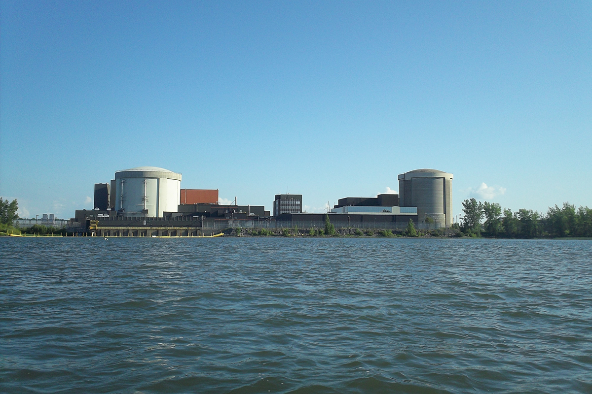 Gentilly Nuclear Generating Station. (Image: Rowshyra Castañeda)