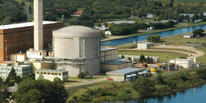 The Embalse nuclear generating station in Argentina is a Canadian-designed heavy water reactor. (SNC Lavalin)