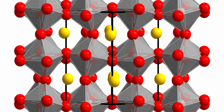 Atomic structure of a mineral perovskite